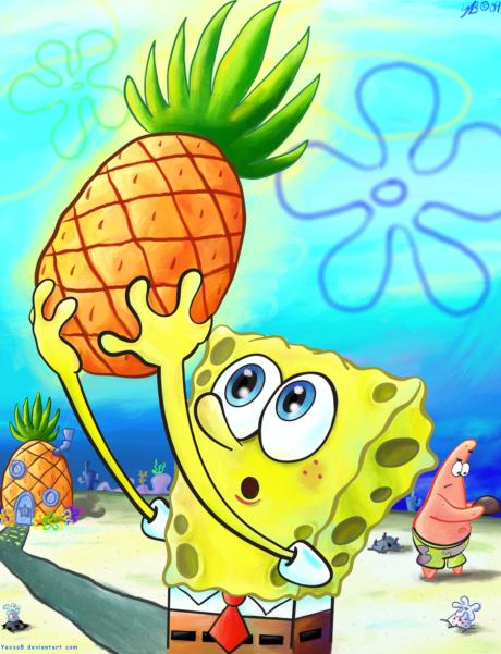 SpongeBob__Pineapple_by_YazzoB