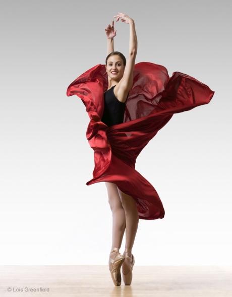 Melanie Hamrick, AMERICAN BALLET THEATRE dancer